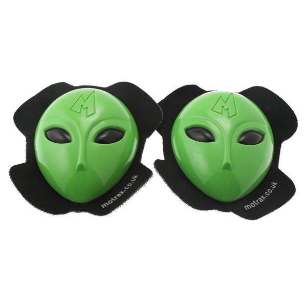 Ufo1 Alien Knee Sliders Green Knee Sliders