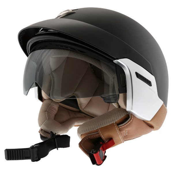 Exo 100 Padova Helmet Matt Black Scorpion Helmets