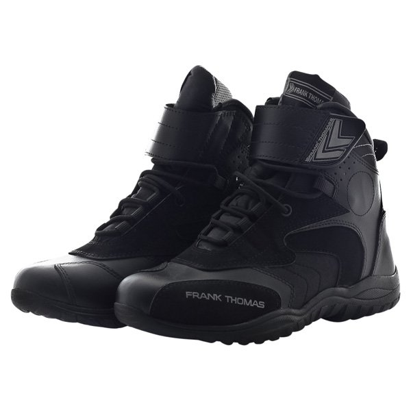 Shorty Boots MXW-010 Black Grey