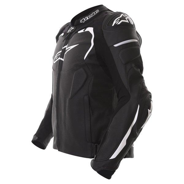 Alpinestars Gp Pro Black Leather Motorcycle Jacket Side