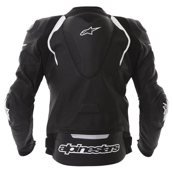 Alpinestars Gp Pro Black Leather Motorcycle Jacket Back