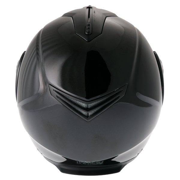 Frank Thomas DV06 Black Flip Front Motorcycle Helmet Back