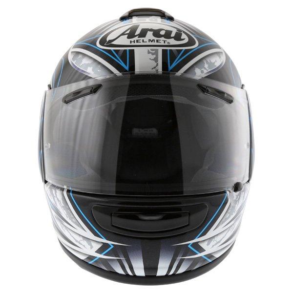 Arai Chaser-V Flash Blue Full Face Motorcycle Helmet Front