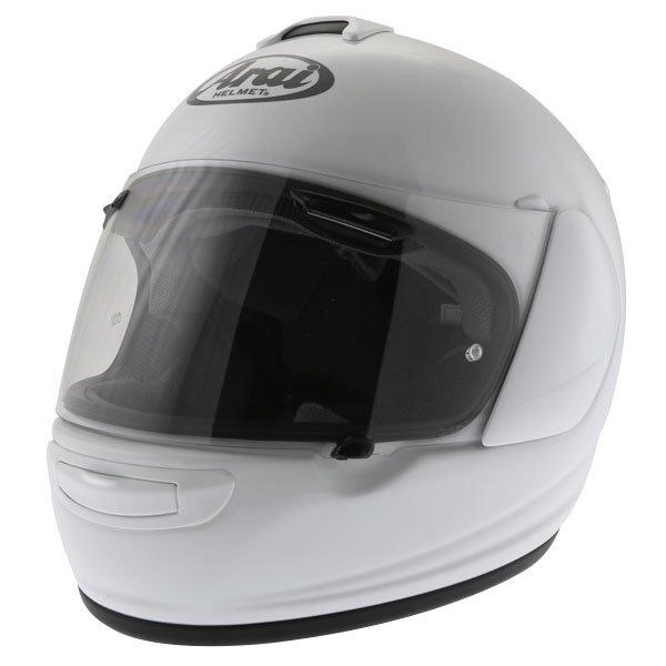 Arai Chaser-V Diamond White Full Face Motorcycle Helmet Front Left