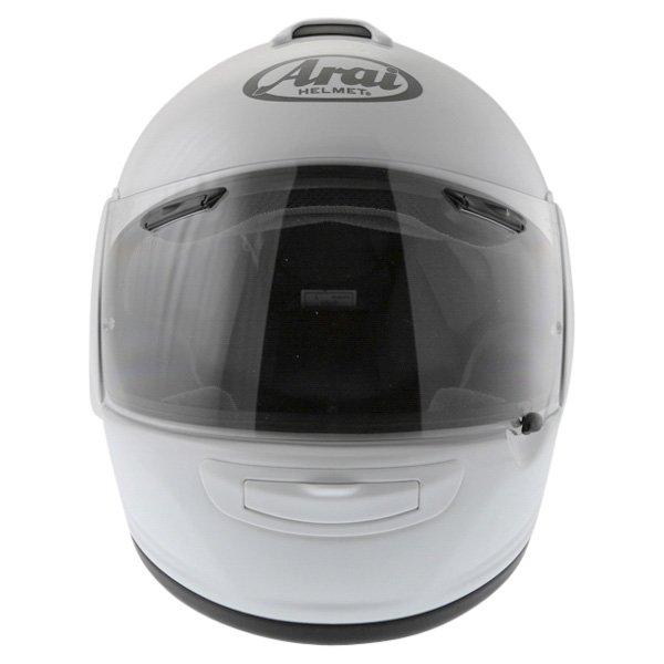 Arai Chaser-V Diamond White Full Face Motorcycle Helmet Front
