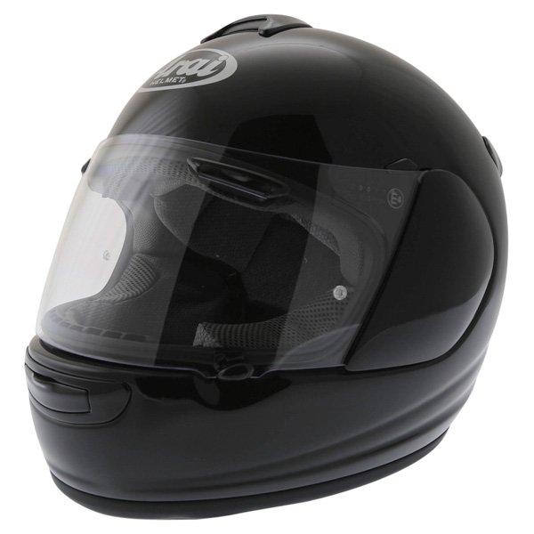 Arai Chaser-V Diamond Black Full Face Motorcycle Helmet Front Left
