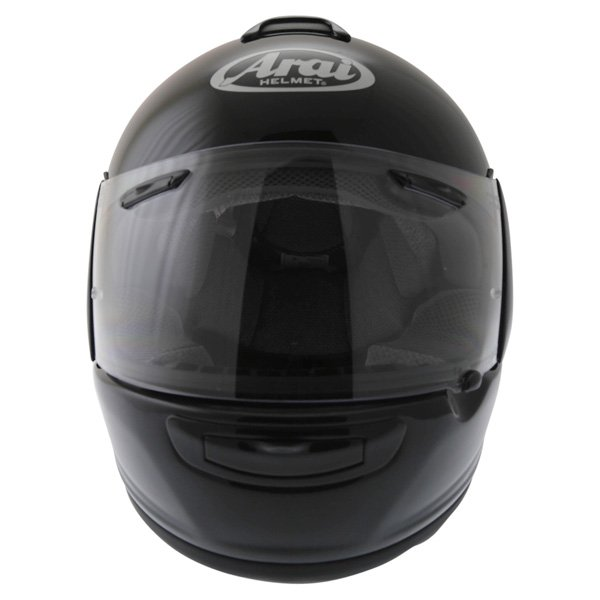 Arai Chaser-V Diamond Black Full Face Motorcycle Helmet Front