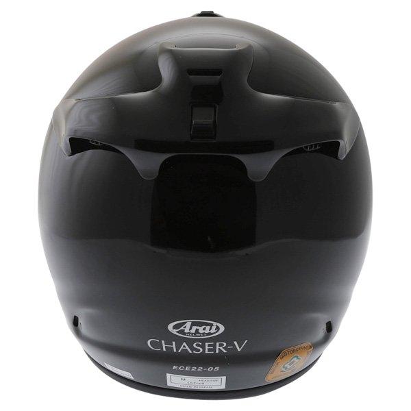 Arai Chaser-V Diamond Black Full Face Motorcycle Helmet Back