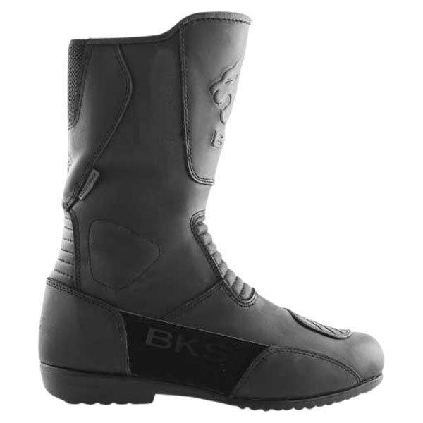 BKS 1022 Thunder Black Motorcycle Boots Outside leg
