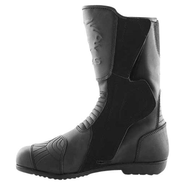 BKS 1022 Thunder Black Motorcycle Boots Inside leg