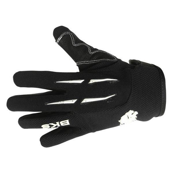 BKG020 Freestyle MX Gloves Black Motocross Gloves