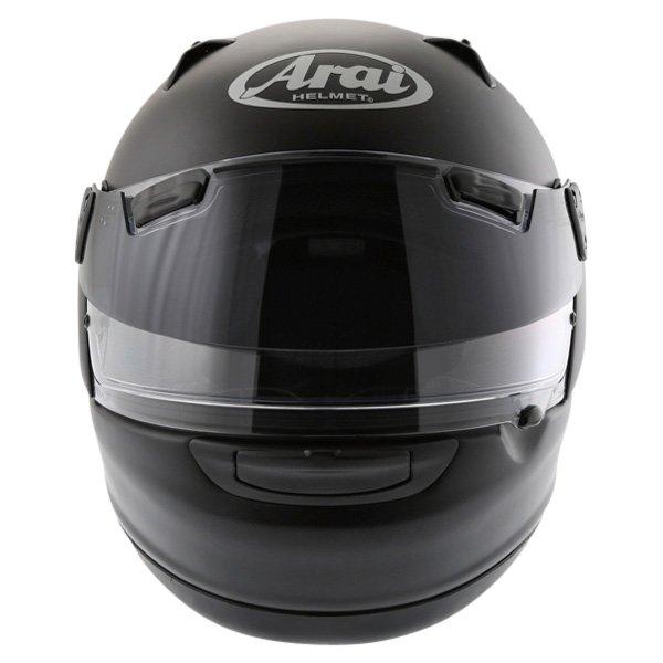 Arai Quantum ST Frost Black Full Face Motorcycle Helmet Front