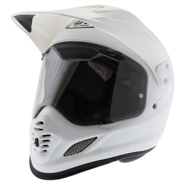 Arai Tour-X 4 White Adventure Motorcycle Helmet Front Left