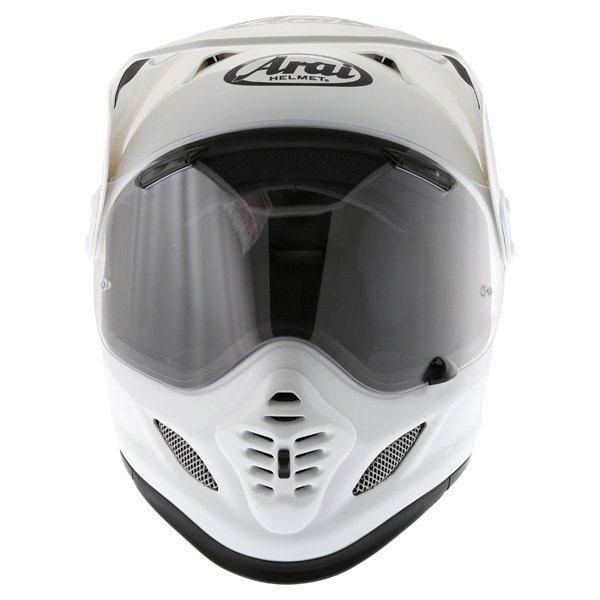 Arai Tour-X 4 White Adventure Motorcycle Helmet Front