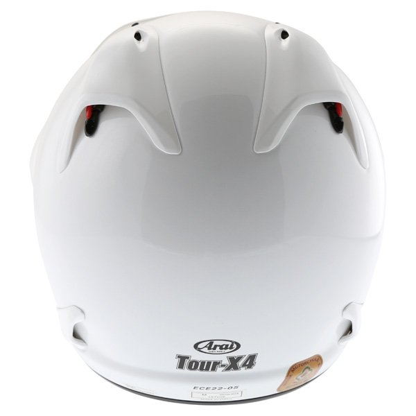 Arai Tour-X 4 White Adventure Motorcycle Helmet Back