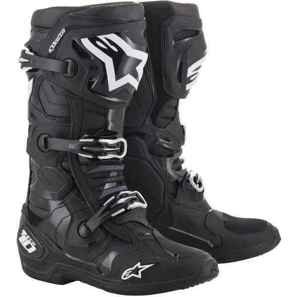 Alpinestars Tech 10 Black MX Boots