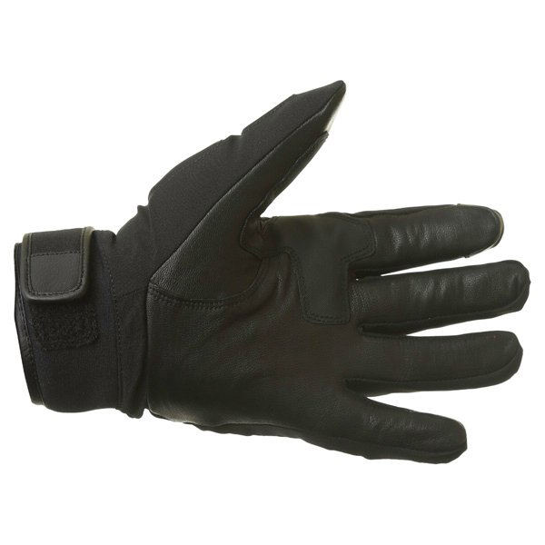 Alpinestars C-10 Drystar Black Waterproof Motorcycle Gloves Palm