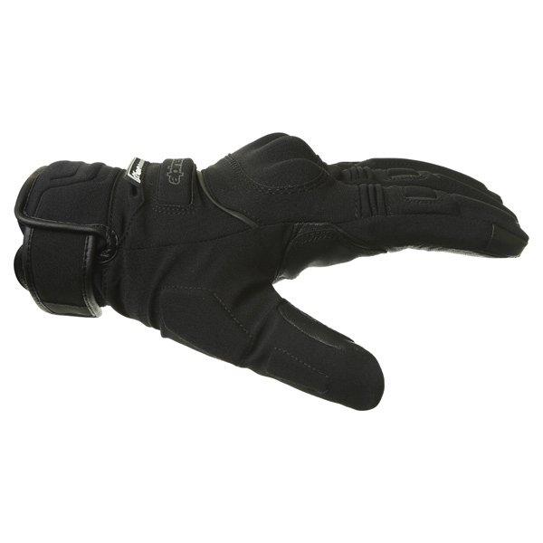 Alpinestars C-10 Drystar Black Waterproof Motorcycle Gloves Thumb side