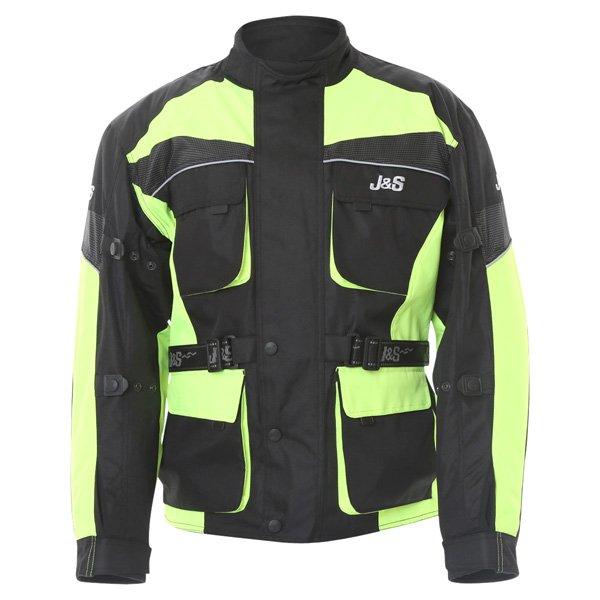 Challenger Jacket 2665 Black Yellow J&S Clothing
