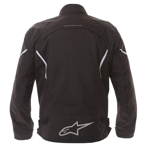 Alpinestars Gunner Mens Black Waterproof Textile Motorcycle Jacket Side