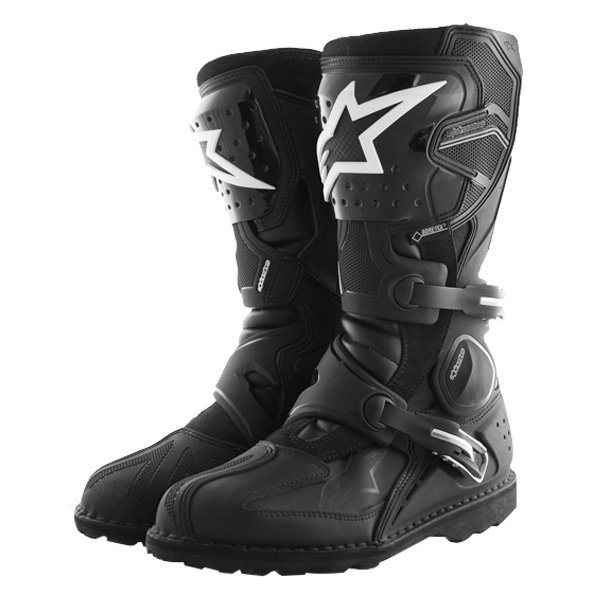 Alpinestars Toucan Goretex Waterproof Black Motorcycle Boots Pair
