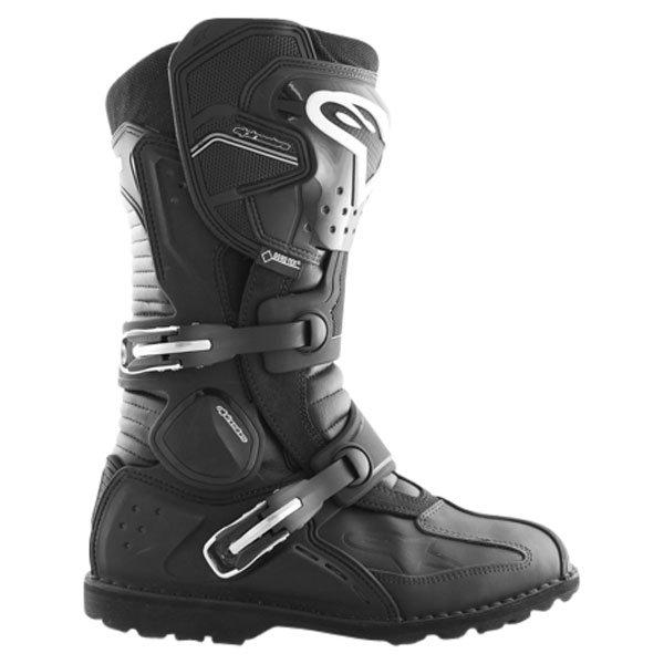 Alpinestars Toucan Goretex Waterproof Black Motorcycle Boots Outside leg