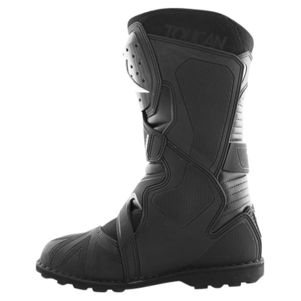 Alpinestars Toucan Goretex Waterproof Black Motorcycle Boots Inside leg