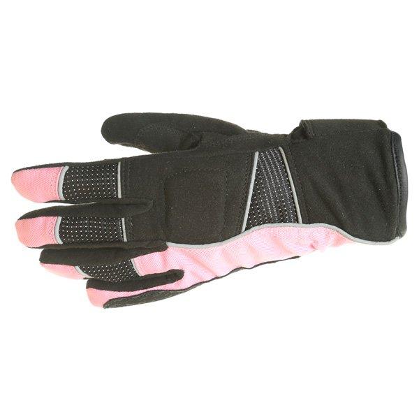 Beverley 9040 Gloves Black Pink J&S Ladies