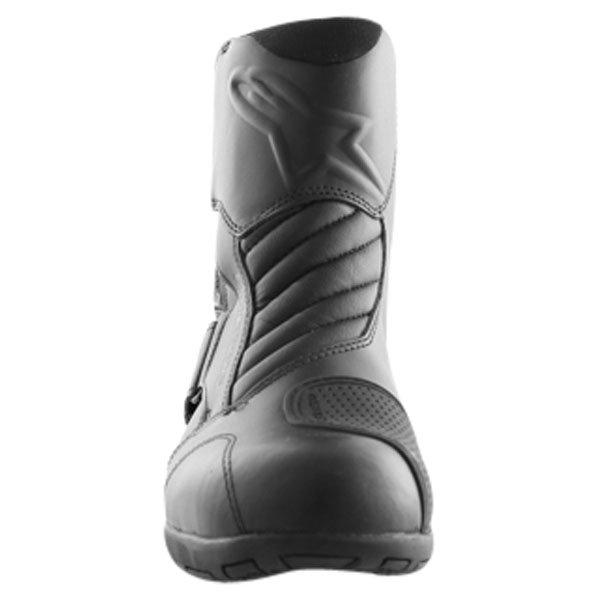 Alpinestars New Land Goretex Waterproof Black Motorcycle Boots Front