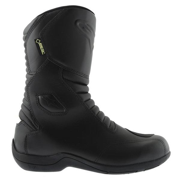 Alpinestars Web Goretex Black Waterproof Motorcycle Boots Outside leg