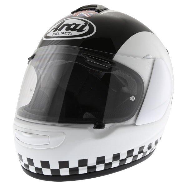 Arai Chaser-V Legend White Full Face Motorcycle Helmet Front Left