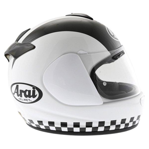 Arai Chaser-V Legend White Full Face Motorcycle Helmet Right Side