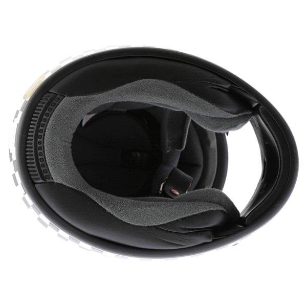 Arai Chaser-V Legend White Full Face Motorcycle Helmet Inside