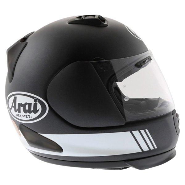 Arai Rebel Base White Full Face Motorcycle Helmet Right Side