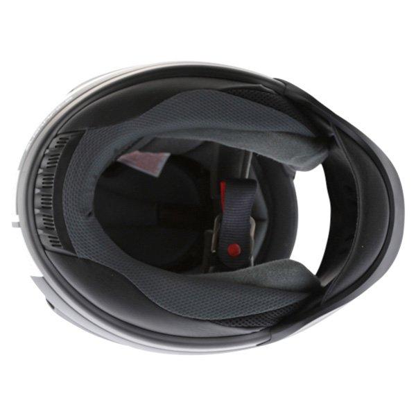 Arai Rebel Base White Full Face Motorcycle Helmet Inside