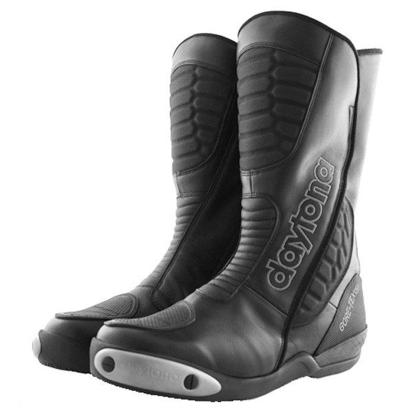 Daytona Strive Goretex Waterproof Black Motorcycle Boots Pair