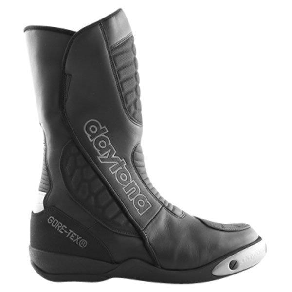 Daytona Strive Goretex Waterproof Black Motorcycle Boots Outside leg