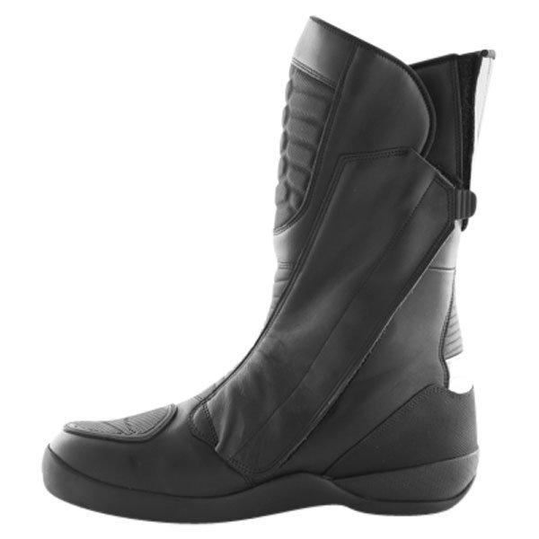 Daytona Strive Goretex Waterproof Black Motorcycle Boots Inside leg