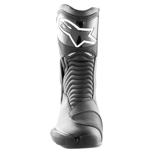 Alpinestars S-MX 6 Black Motorcycle Boots Front