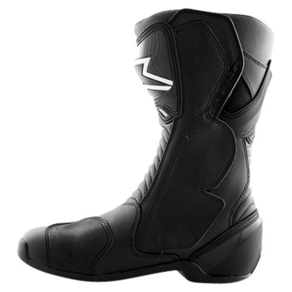 Alpinestars S-MX 6 Black Motorcycle Boots Inside leg
