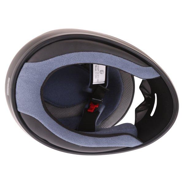 Box BX-1 Matt Black Full Face Motorcycle Helmet Inside