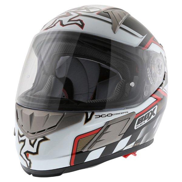 Box BZ-1 Isle Of Man Full Face Motorcycle Helmet Front Left