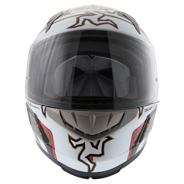 Box BZ-1 Isle Of Man Full Face Motorcycle Helmet Front