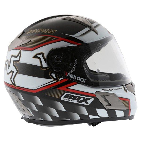 Box BZ-1 Isle Of Man Full Face Motorcycle Helmet Right Side