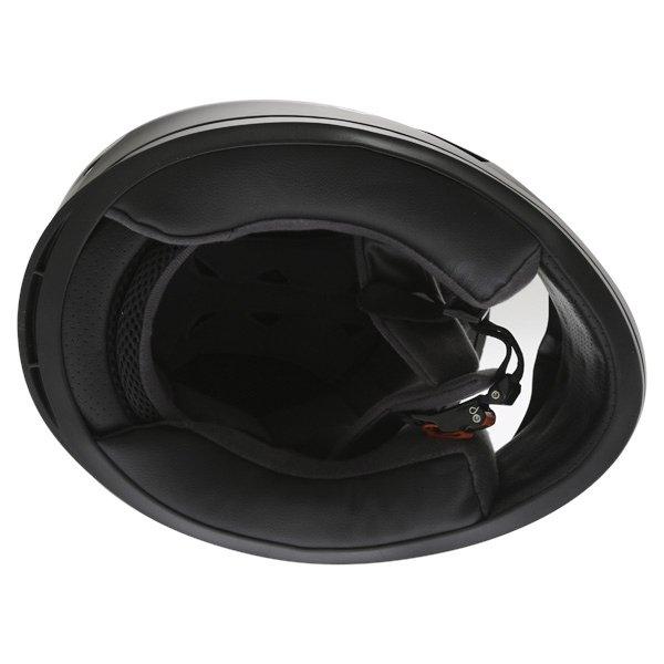 Frank Thomas FT36 Matt Black Full Face Motorcycle Helmet Inside