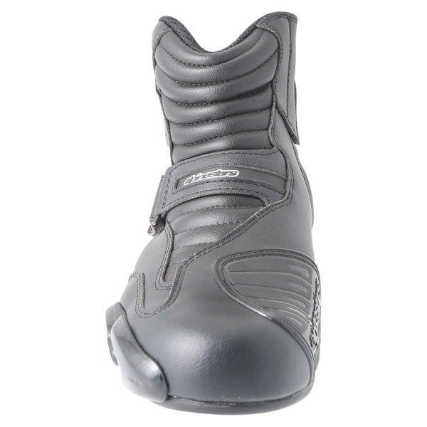 Alpinestars S-MX 1.1 Short Black Motorcycle Boots Front