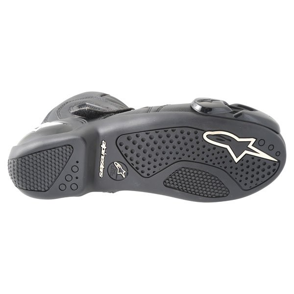 Alpinestars S-MX 1.1 Short Black Motorcycle Boots Sole