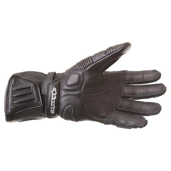 Alpinestars GP Plus Black Motorcycle Gloves Palm