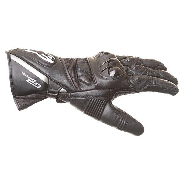 Alpinestars GP Plus Black Motorcycle Gloves Thumb side
