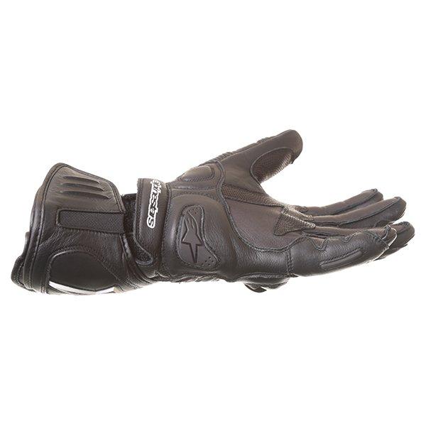Alpinestars GP Plus Black Motorcycle Gloves Little finger side